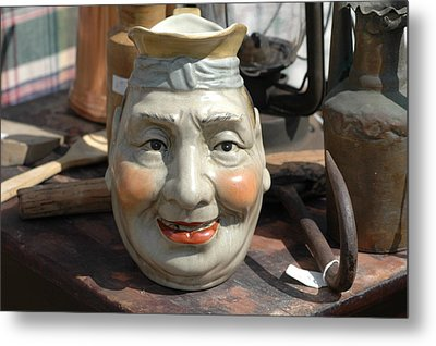 Cookie Jar Metal Print by William A Lopez