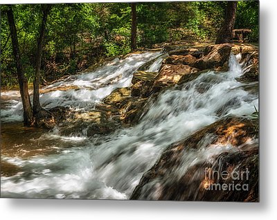 Cooling Waters At The Chickasaw National Recreation Area Metal Print by Tamyra Ayles