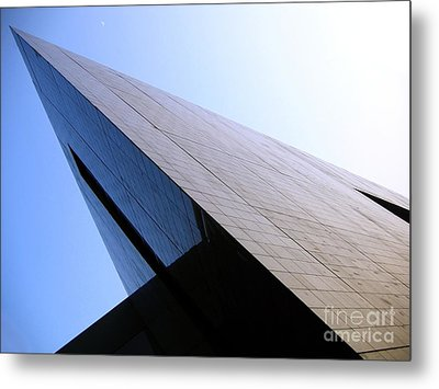 Corporate Architecture Metal Print by Yali Shi