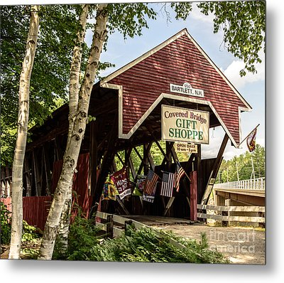Covered Bridge Gift Shoppe Metal Print