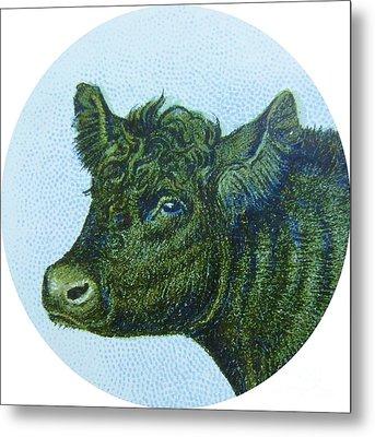 Cow I Metal Print by Desiree Warren
