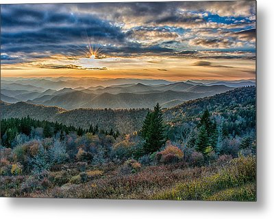 Cowee Sunset Metal Print by Donnie Smith