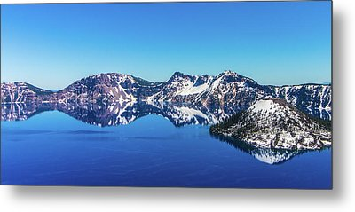 Metal Print featuring the photograph Crater Lake by Jonny D