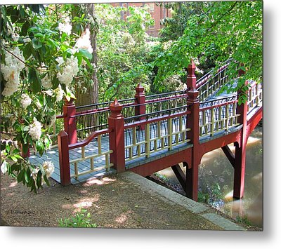 Crim Dell Bridge IIi Metal Print