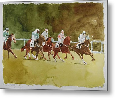 Cross Country Metal Print by Stephen Rutherford