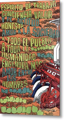 Cuban Poster, 1960s Metal Print by Granger