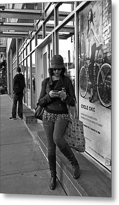 Cycle Chic Metal Print by Frank Winters