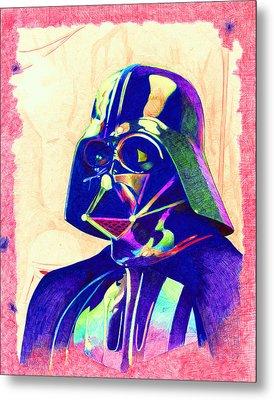 Darth Vader Metal Print by Kyle Willis