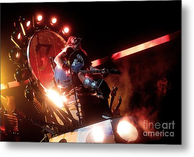 Dave Grohl - Foo Fighters Metal Print