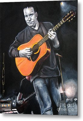 Dave Mathews Band Metal Print by Eric Dee