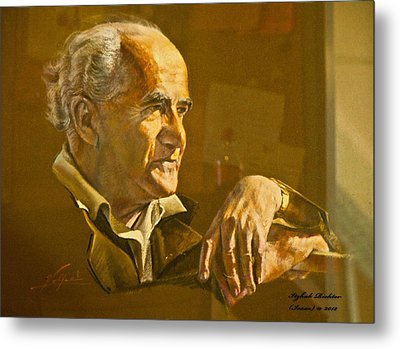 David Ben Gurion - Israel First Pm Metal Print by Itzhak Richter