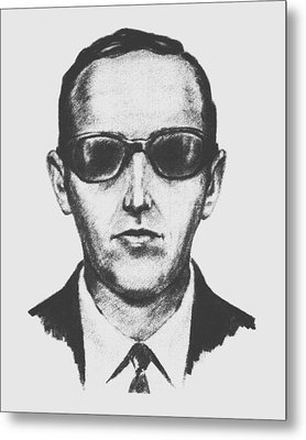 D.b. Cooper Metal Print by War Is Hell Store