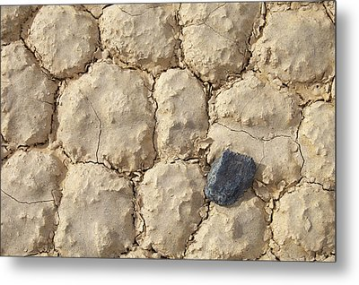 Metal Print featuring the photograph Death Valley Mud by Breck Bartholomew