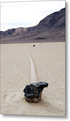 Death Valley Racetrack Metal Print by Breck Bartholomew