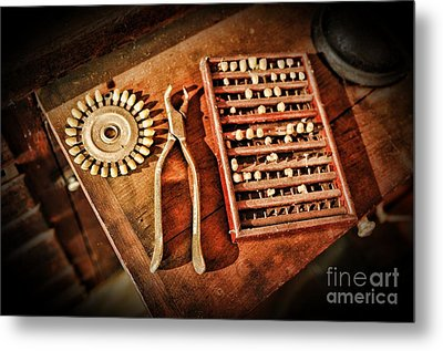 Dentist Tooth Extraction Metal Print by Paul Ward