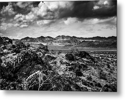 Metal Print featuring the photograph Deserted Red Rock Canyon by Jason Moynihan