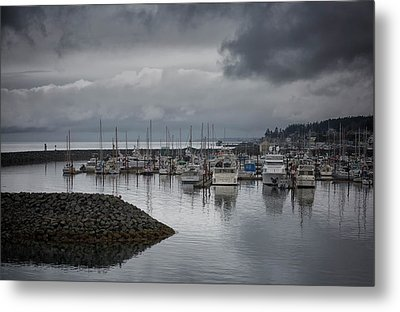 Discovery Harbour Metal Print by Randy Hall