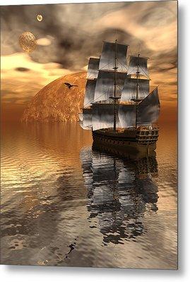 Distant Voyage 2 Metal Print
