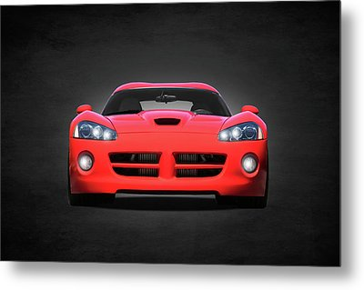 Dodge Viper Metal Print by Mark Rogan