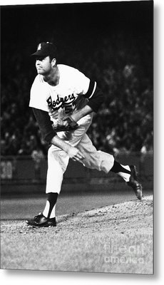 Don Drysdale (1936-1993) Metal Print by Granger
