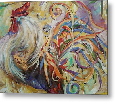 Doodle Do Metal Print by Heather Roddy
