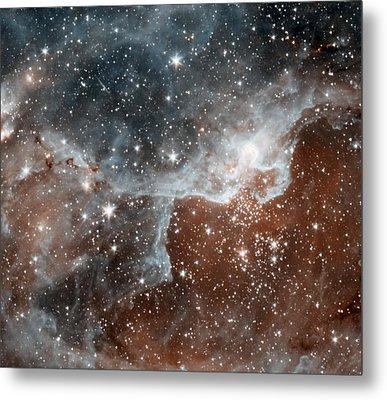Dr22 In The Cygnus Region Of The Sky Metal Print by American School