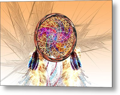 Dream Catcher Metal Print by Carol and Mike Werner