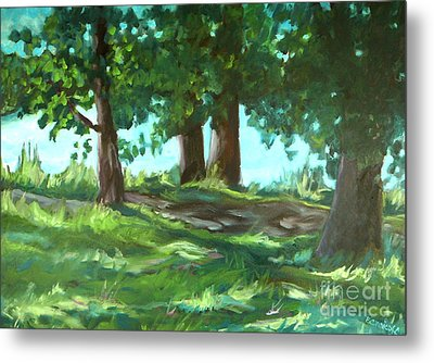 Dreaming On Fellows Lake Metal Print