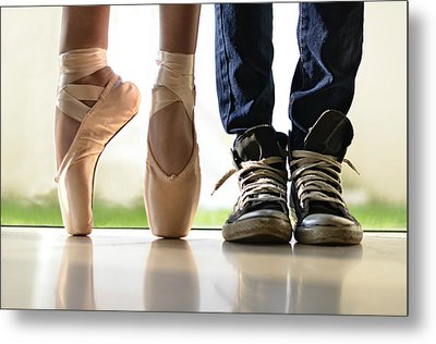 Duet Metal Print by Laura Fasulo