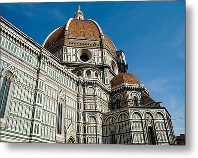 Duomo -  Florence Italy Metal Print by Carl Jackson