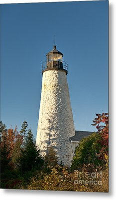 Dyce Head Lighthouse Metal Print by John Greim