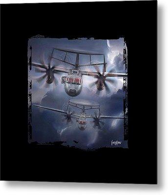 E-2d Hawkeye Metal Print