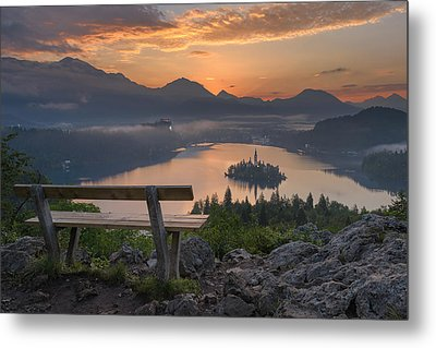Early Morning Metal Print by Robert Krajnc