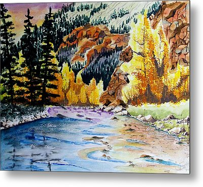 East Clear Creek Metal Print by Jimmy Smith