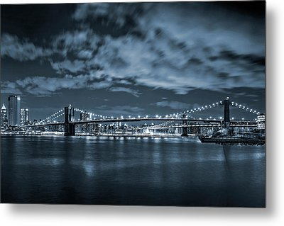 East River View Metal Print by Az Jackson