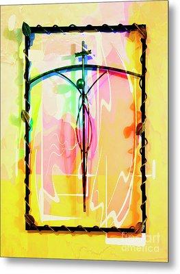 Metal Print featuring the photograph Easter Remembrance by Al Bourassa