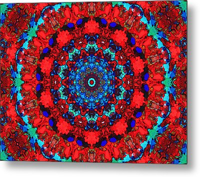 Ecstacy Metal Print by Natalie Holland
