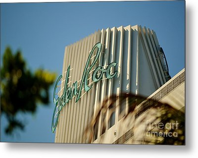 Eden Roc Hotel Miami Beach Metal Print