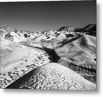 Metal Print featuring the photograph Elephant Knees And Mud Hills by Alexander Kunz