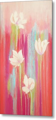 Metal Print featuring the painting Simplicity 2 by Irene Hurdle