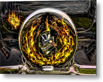 Evil Ways Metal Print by Jerry Golab