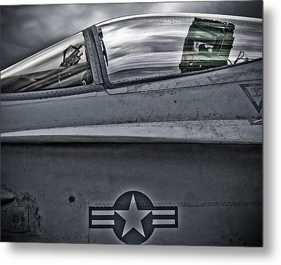 F-18 Super Hornet Metal Print
