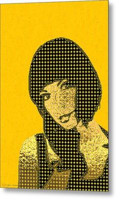 Fading Memories - The Golden Days No.3 Metal Print