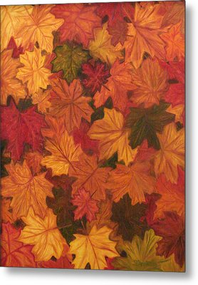 Fall Has Fallen Metal Print by Shiana Canatella