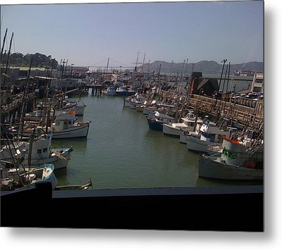Metal Print featuring the photograph Fisherman's Whraft by Fanny Diaz
