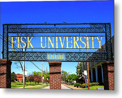 Fisk University Nashville Metal Print