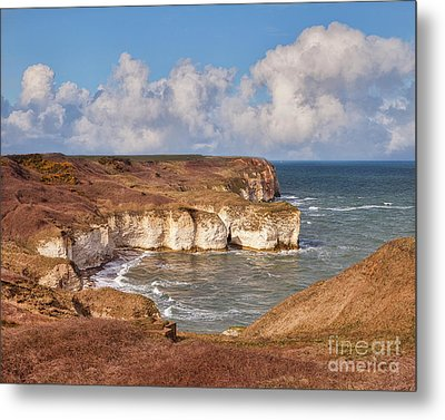 Metal Print featuring the photograph Flamborough Head by Colin and Linda McKie