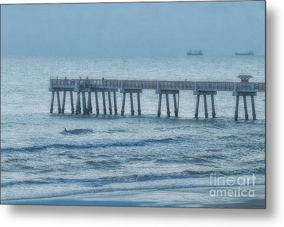 Foggy Morning Metal Print by Dave Bosse