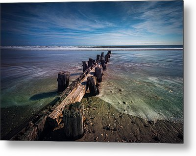 Metal Print featuring the photograph Folly Beach by RC Pics