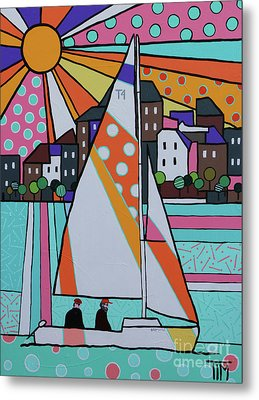 For Sail Metal Print by Tim Ross